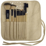 10pc Prof. Bamboo Brush Set